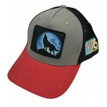Lograda - loup rouge - casquette