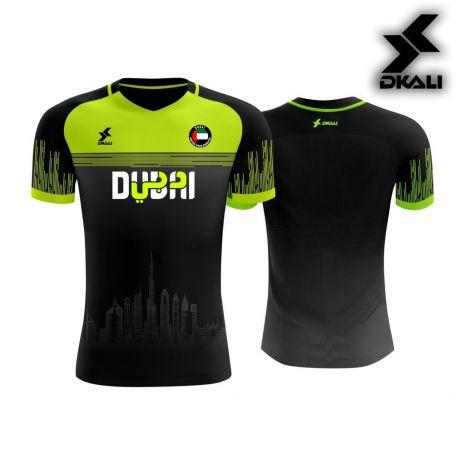 Dkali T-shirt 2019 Dubai Blanc Jaune