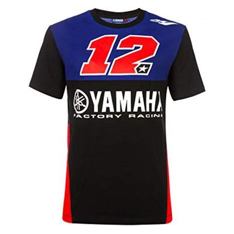 Tshirt 2019 Yamaha numero 12