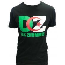 T-shirt 2019 Algerie Noir Les Zommes