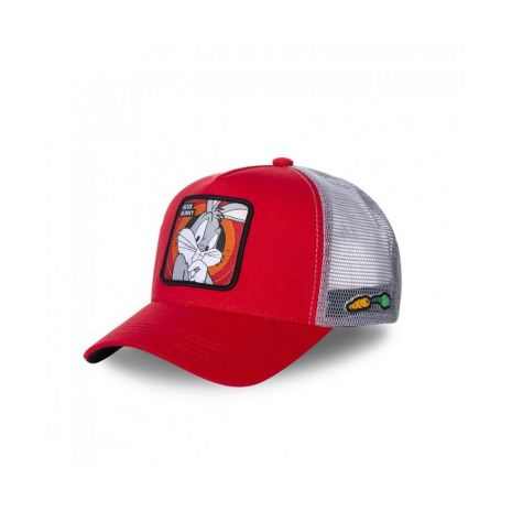 Casquette Bugs Bunny Rouge