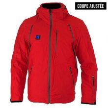 Blouson Scampia chauffant Creed - Rouge
