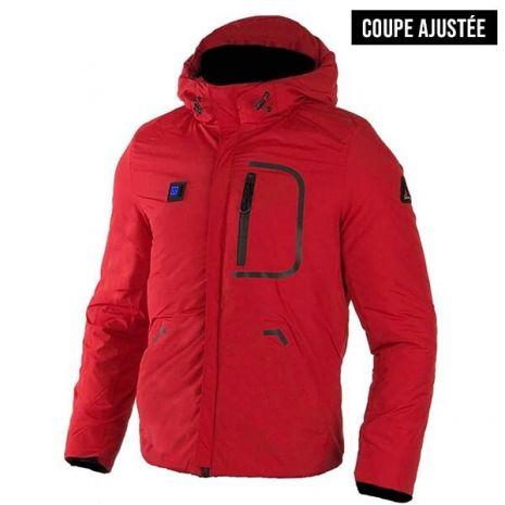 Doudoune Blouson Scampia chauffant Hybrid - Rouge