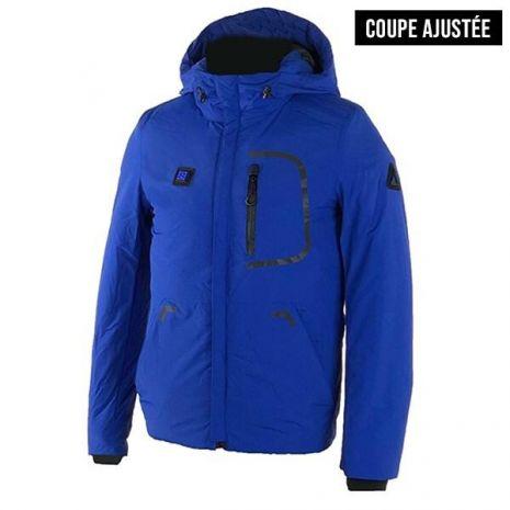Doudoune Blouson Scampia chauffant Hybrid - Bleu