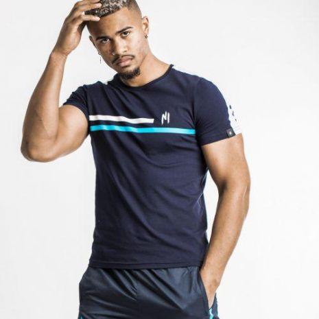 Ninho - T-shirt shaft blue