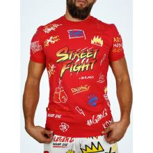 StreetFight T-Shirt Rouge « Collection Vatos »