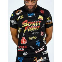 StreetFight T-Shirt Noir « Collection Vatos »