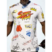 StreetFight T-Shirt Blanc « Collection Vatos »