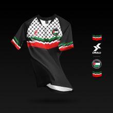 Dkali T-shirt 2020 Palestine noir