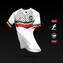 Dkali T-shirt 2020 Palestine blanc