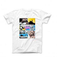 T-Shirt raoult c'est marseille bébé BLANC 2020