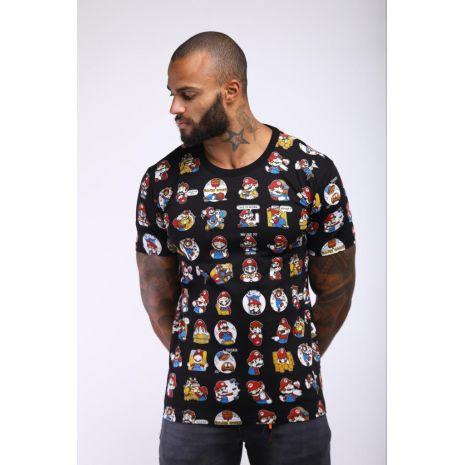 T-Shirt Mario bros NOIR