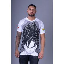T-Shirt DBZ DRAGONBALL NEW 2021 BLANC GRIS