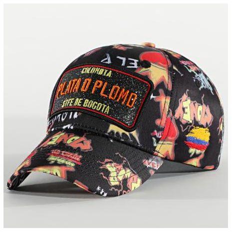 CAP PLATA O PLOMO NOIR ROUGE