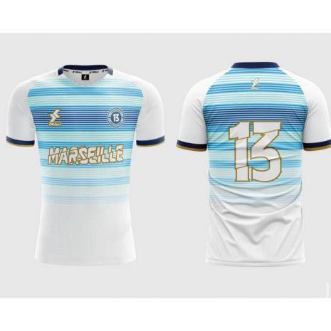Dkali T-shirt Maillot 2021/22 Marseille Blanc
