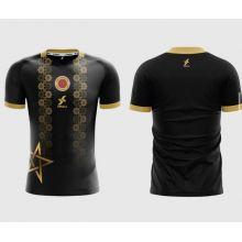Dkali T-shirt Maillot 2021/22 Maroc Noir