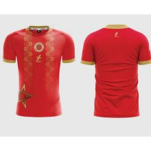 Dkali T-shirt Maillot 2021/22 Maroc Rouge