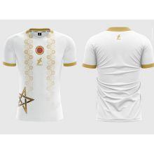 Dkali T-shirt Maillot 2021/22 Maroc Blanc