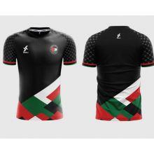 Dkali T-shirt Maillot 2021/22 Palestine Noir