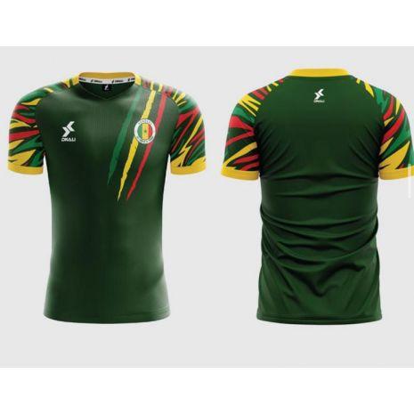 Dkali T-shirt Maillot 2021/22 Sénégal Vert
