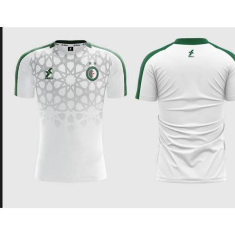 Dkali T-shirt Maillot 2021/22 Algérie Noir
