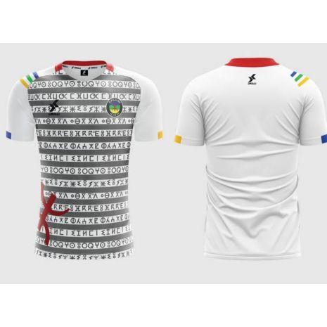 Dkali T-shirt Maillot 2021/22 Amazigh Blanc