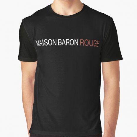 Tshirt SCH MAISON BARON ROUGE - noir