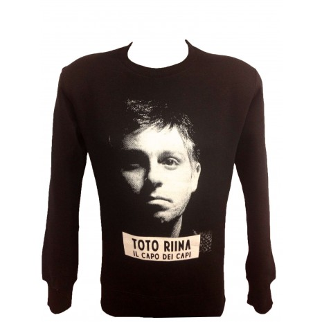 SWEAT COL ROND NOIR TOTO RINA